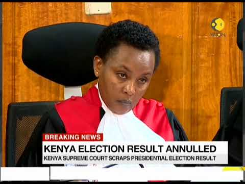 Kenya Election result annulled
