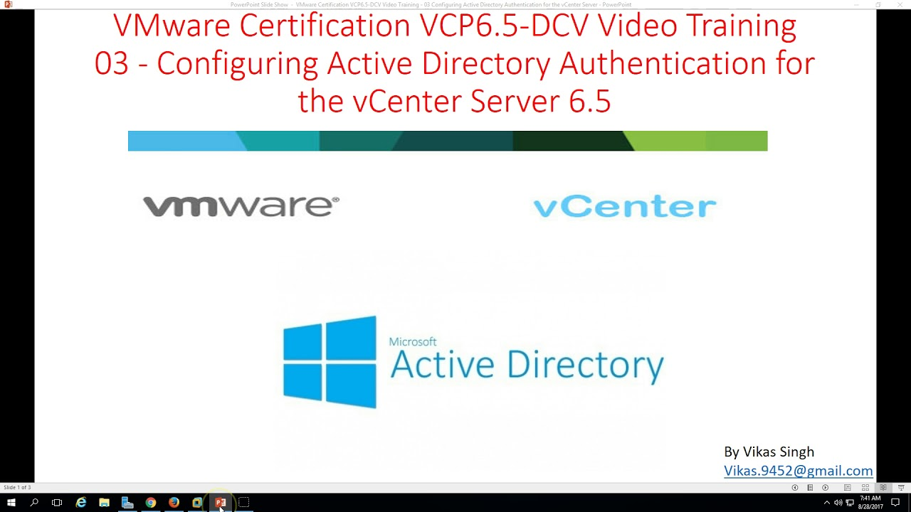 Vmware certification vcp 65 03 configuring active directory vmware certification vcp 65 03 configuring active directory authentication for vcenter server xflitez Image collections