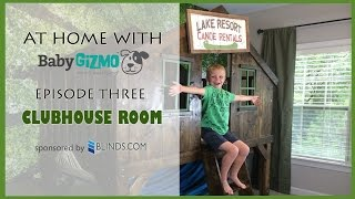 Bg Home: Diy Clubhouse Room - At Home With Baby Gizmo (episode #3)
