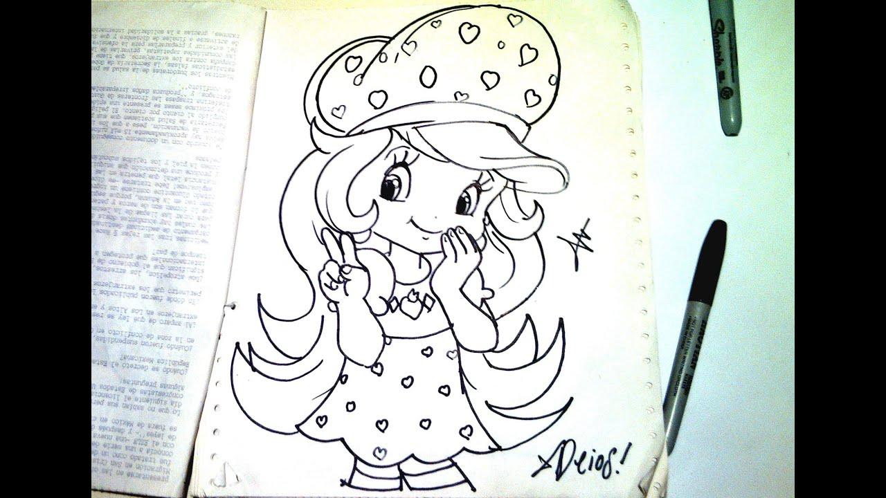 Dibuja Caricatura Kawaii de ROSITA FRESITA XDB - YouTube