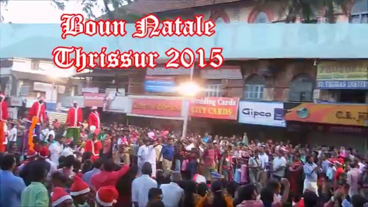 Buon Natale Thrissur.Buon Natale Thrissur 2015 Vlog