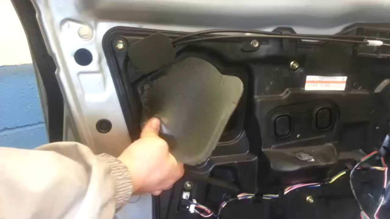 How To Change Replace Front Exterior Door Handle Mazda 6