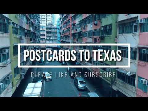 Youtube Intro Video Drone Shots in Hong Kong POSTCARDS 2 TEXAS