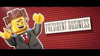 The LEGO® Movie - Meet President Business [HD]