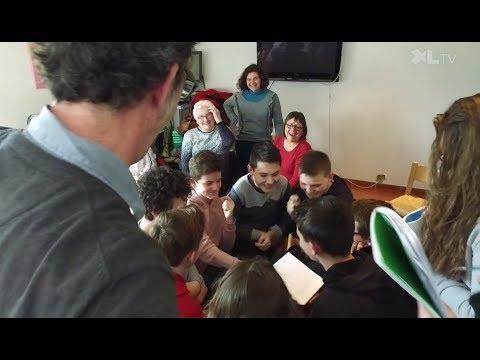Un atelier d'écriture intergénérationnel à Amou