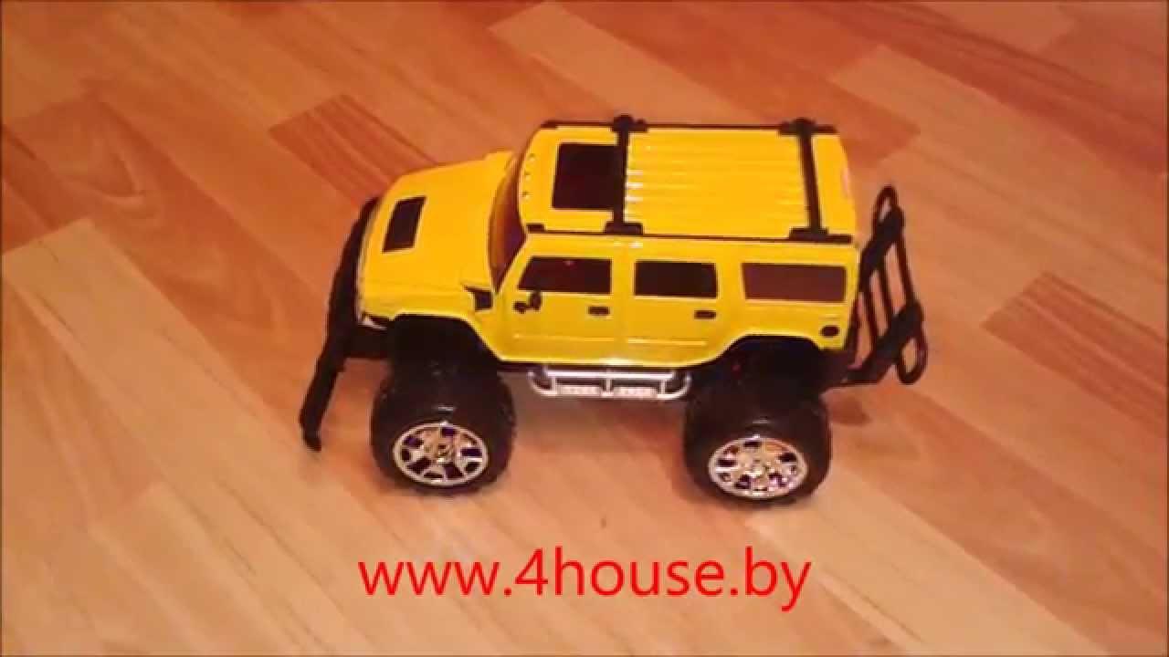 Джип на пульте управления для детей - YouTube