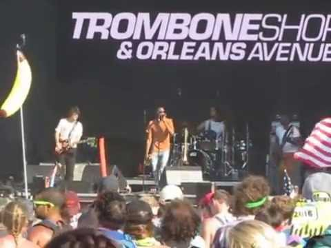 Trombone Shorty Troy Andrews Here Come the Girls at Firefly Music Festival