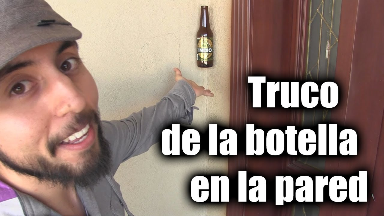 Como pegar una cerveza en la pared chideetv youtube for Espejos para pegar en la pared