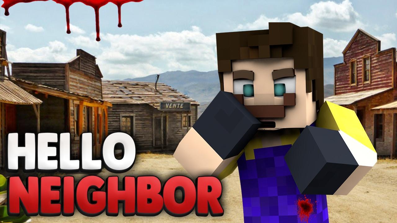 GEHEIMES DORF Minecraft Hello Neighbor YouTube - Minecraft geheime hauser