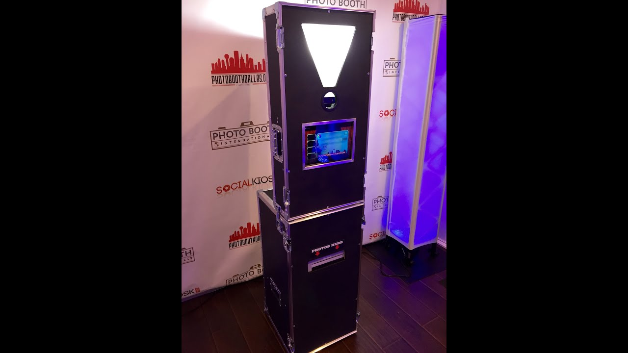 New Mini Portable Photo Booth For Start A Al Business