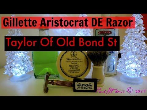 Gillette Aristocrat Vintage DE Razor - 1946-48