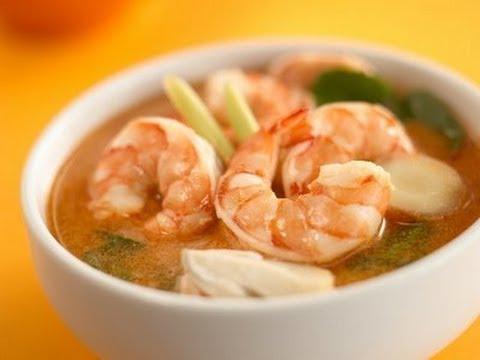 ... شوربة توم يوم كونج Tom Yum Goong Soup - YouTube