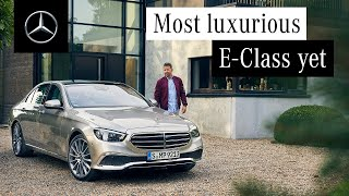More Luxurious than Ever | The New E-Class