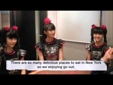 BABYMETAL J Wave ANA World Air radio 2015 12 19 [ENG SUB FULL]