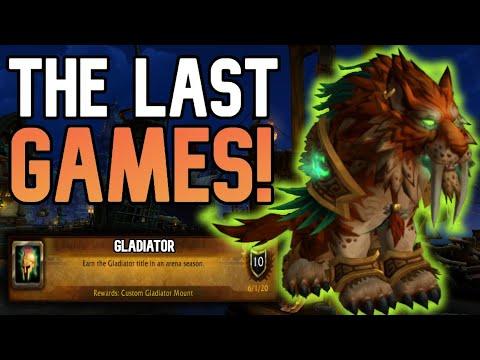 WE DID IT AGAIN! - Feral Druid Gladiator Push BFA 8.3