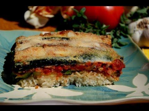 Elegant & Easy: Vegetarian Main Dish / Courgettes a la Provencal