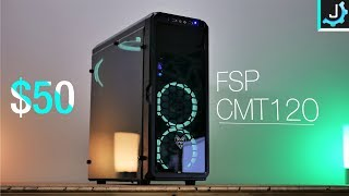 $50 Tempered Glass Look Budget Case - FSP CMT120