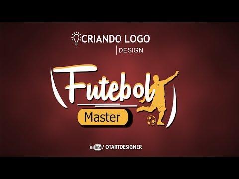 Logo Tipo Ilustrativo - Criando Logo no Photoshop Otavio Art Designer