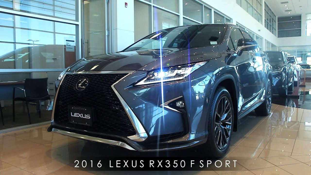 2016 Lexus RX350 F Sport Review Interior & Exterior Walkaround
