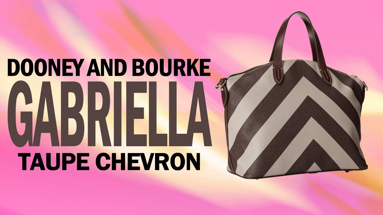 Dooney and Bourke Gabriella Review - YouTube