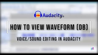[AUDACITY TUTORIAL] How to View Waveform in Audacity | S Sulianah