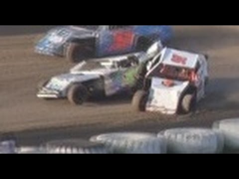 Santa Maria Speedway Heat Races - August 9, 2014