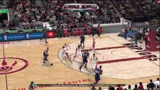 NBA 2K10 (Xbox 360) Gameplay: Atlanta Hawks vs. Toronto Raptors