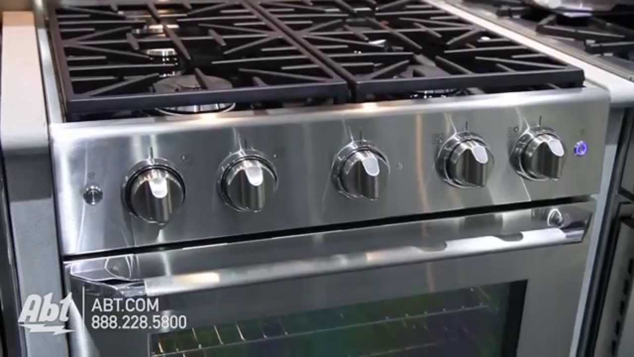 Dacor Distinctive Series Gas Range DRGISNG Overview YouTube - Abt gas ranges