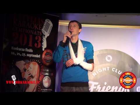 Latvijas karaoke čempionāts 2013 pusfināls. Jānis Sniedziņš (Preiļu atlase) - Pro zajcev.