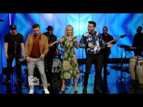 Prince Royce Teaches Kelly & Ryan How to Dance Bachata