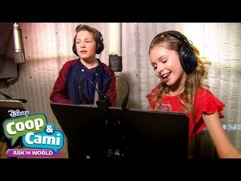 Theme Song: Behind the Scenes | Coop & Cami Ask the World | Disney Channel