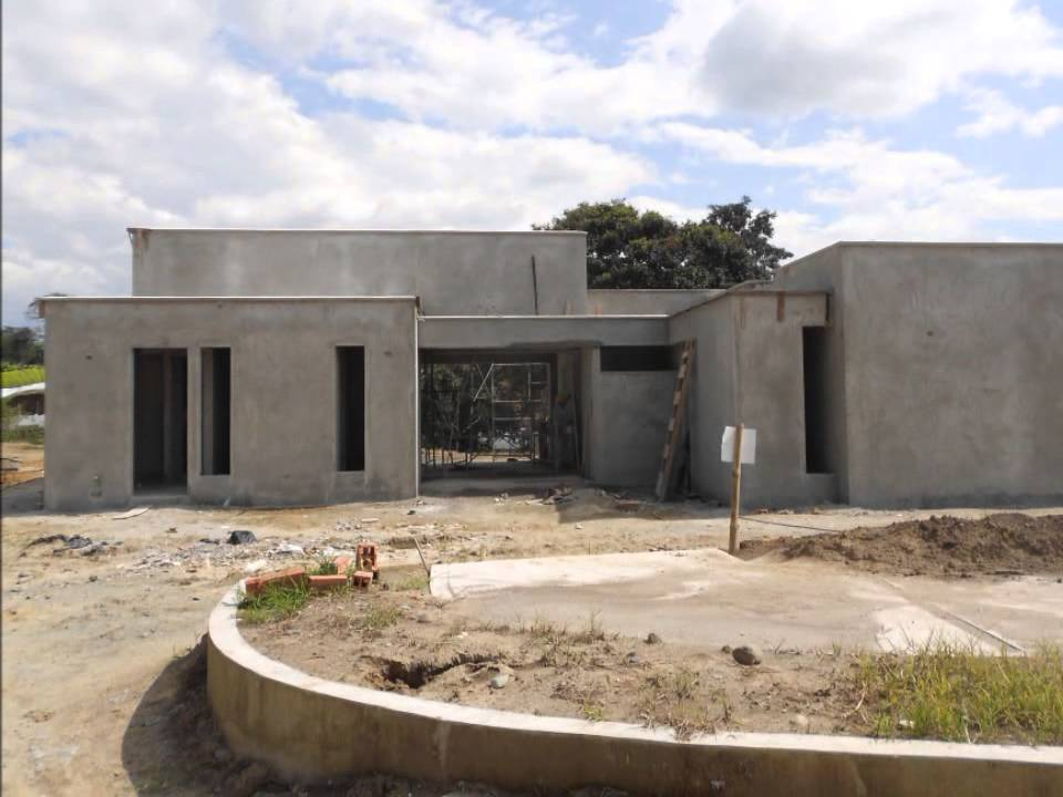 Construccion mocawa casas de campo youtube for Modelos de casa para construccion