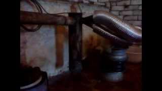 самодельная печь на отработанном масле видео второе