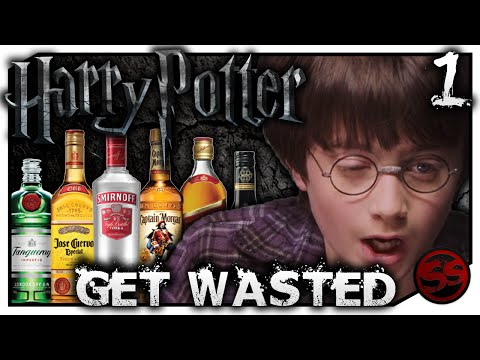GET WASTED! - Drinking Games - Harry Potter and the Philosopher's Stone (HP #1)