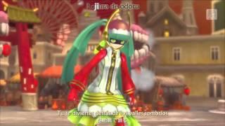 Hatsune Miku - Babylon (バビロン)  / Project DIVA X PSV 【Sub: Esp. + Karaoke】