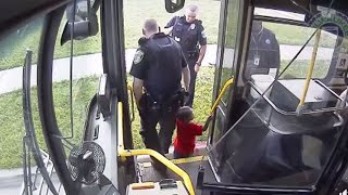 Bus Driver Hailed as Hero After Stopping to Help Lost 2-Year-Old Boy