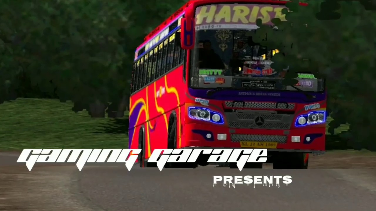 Harisree bus extreme drive with music||harisree skin for maruthi v2||Team  KBS||ets2