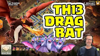 A look at TH13 Drag Bat triple. Would Changing Inferno Settings Have Helped?