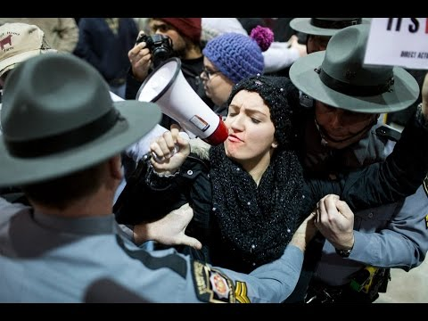Activists disrupt The Pennsylvania Farm Show and Get Dragged Out By Police