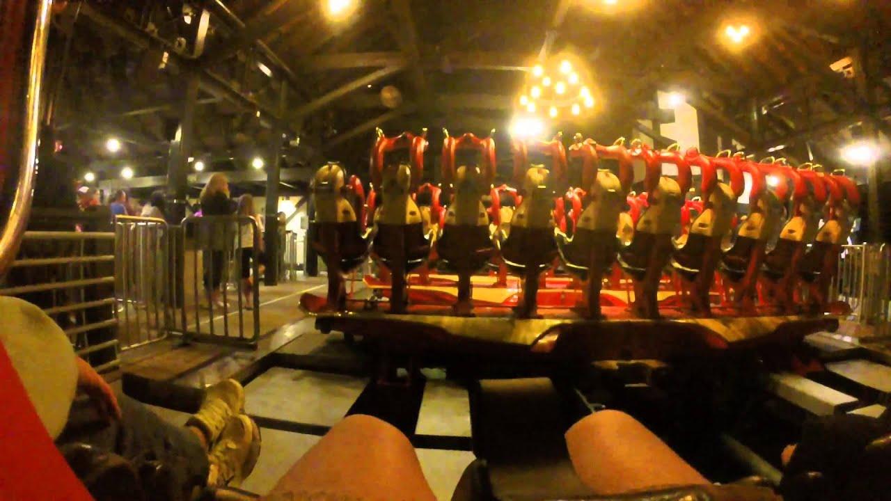 Busch Gardens Williamsburg Griffon Night POV - YouTube