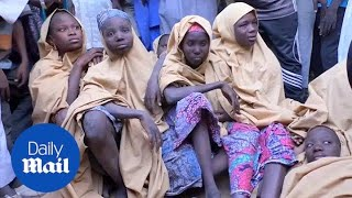 Boko Haram releases over 100 kidnapped Nigerian schoolgirls - Daily Mail