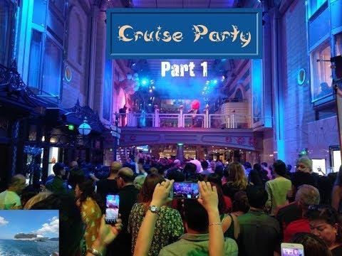 Cruise Trip || क्रूज पर ऐसे होती है पार्टीज. जाने से पहले जरूर देखे. || Part 1
