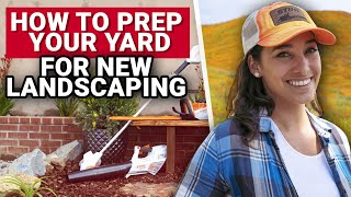 How To Prep Your Yard For New Landscaping - Ace Hardware