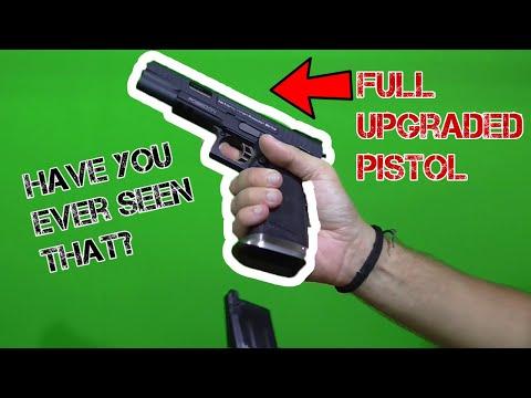 1St REVIEW of POSEIDON P51 HI-CAPA on WHOLE YOUTUBE!!FULLY UPGRADED & COSTUMIZED!!!