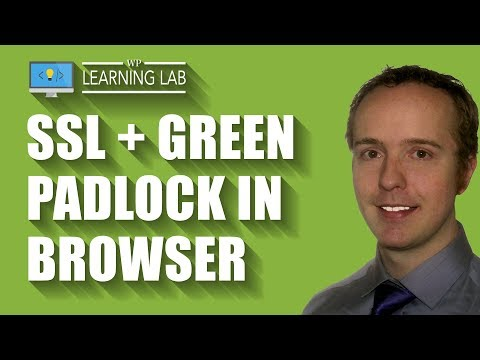 Get An SSL Certificate Green Padlock On Your Wordpress Website - HTTPS