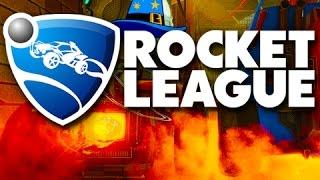 Rocket league gameplay! - kronovi the wizard!