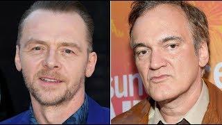 Tarantino Just Took A Public Shot At Simon Pegg