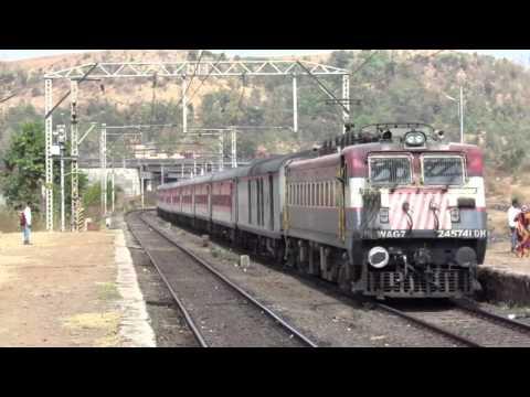 22355 Patna - Mumbai CST Suvidha SF Express WithLudhiana (LDH) WAG7 #24574