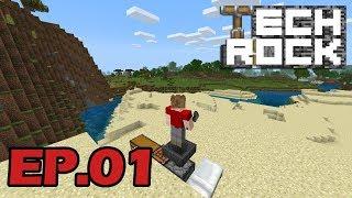TechRock 01 'A new start' |The Technical Bedrock Let's Play|