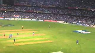 Final Stages Cricket World Cup Final 2011, India v Sri Lanka. Chak De India